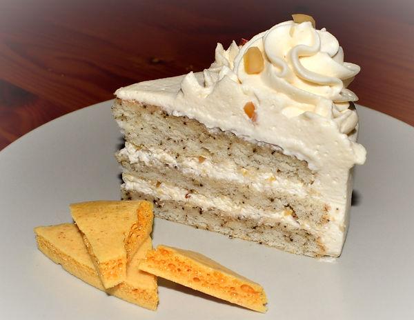 Торт с медовой карамелью