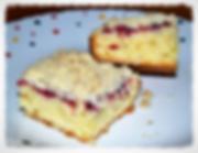 Кекс к кофе из рикотты со свежими ягодами. Домашняя выпечка Светланы Коноваловой