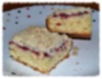 Кекс к кофе из рикотты со свежими ягодами   Очень вкусный кекс со слоем свежих ягод и штрейзелем.