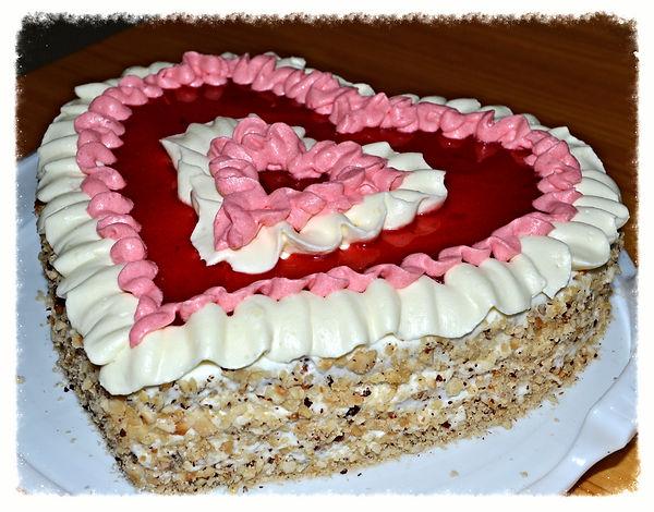 """Торт """"Любящее сердце"""" Домашняя выпечка Светланы Коноваловой"""