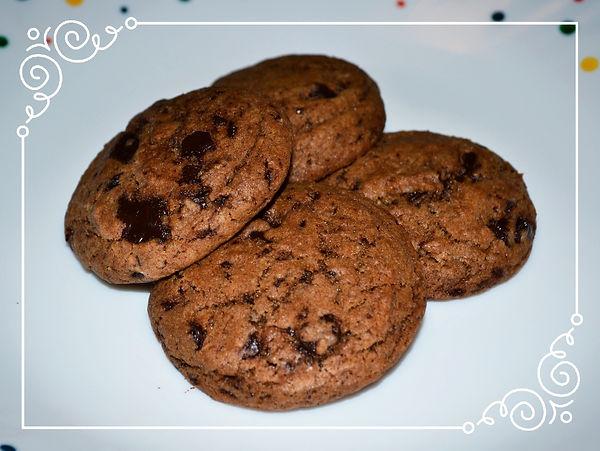 Мягкое шоколадное печенье. Домашняя выпечка Светланы Коноваловой