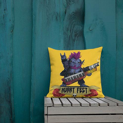 Xvart Fest Pillow - Orange