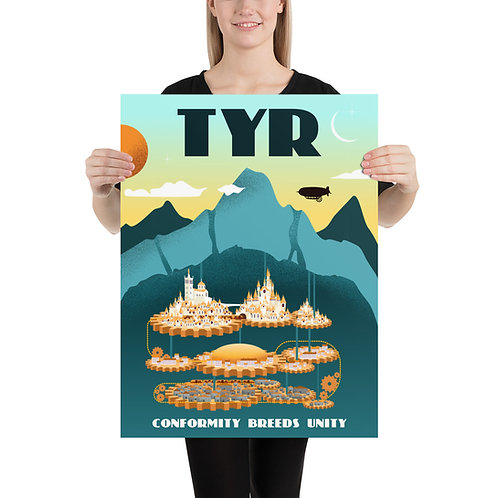 Poster - City of Tyr