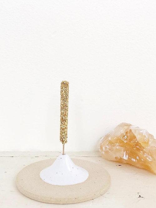Speckled Incense Holder