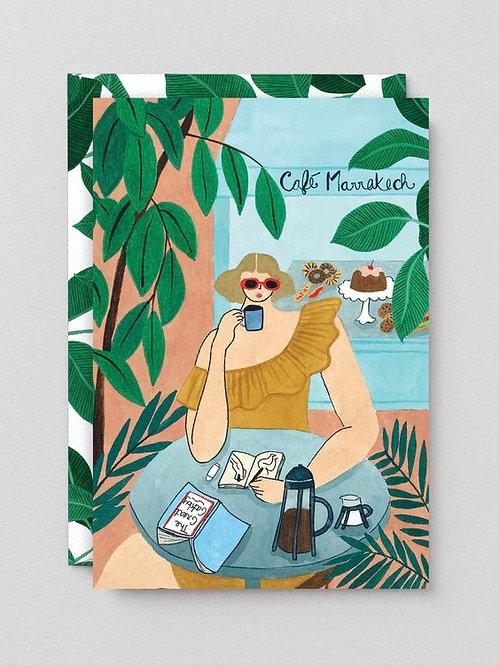 Cafe Marrakech - Art Card