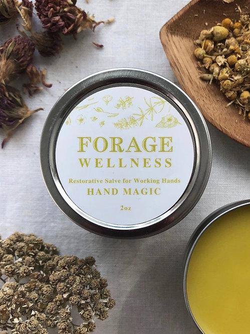 Hand Magic Organic Herbal Salve