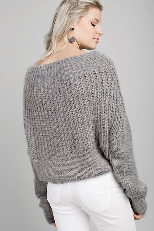 Sage Wool Sweater