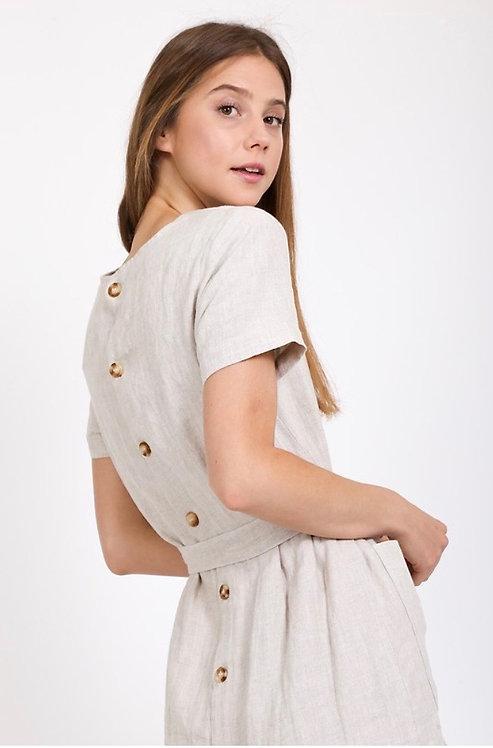 Greta Linen Dress