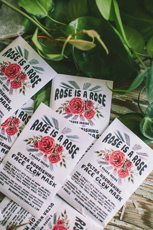 Rose Is A Rose Face Mask