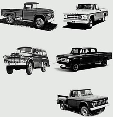 1967 dodge truck body parts