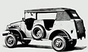 WWII WC 1/2 Ton Open-Cab Comman Car WC6, WC15, WC23, WC7, WC24, WC8, WC16, WC25