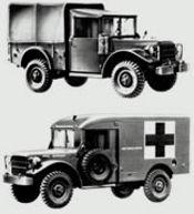 Canadian M-Series Dodge M37, M43, M152