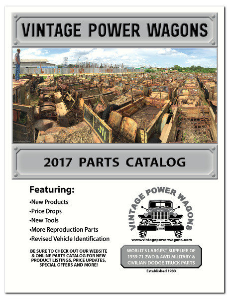 The Vintage Power Wagons 2017 Parts Catalog