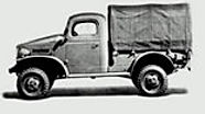 WWII WC 1/2 Ton Closed Cab WC1, WC5, WC12, WC14, WC40