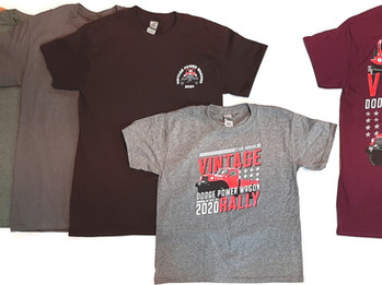 33rd Annual Power Wagon Rally Cancellation Notice & Rally Shirts