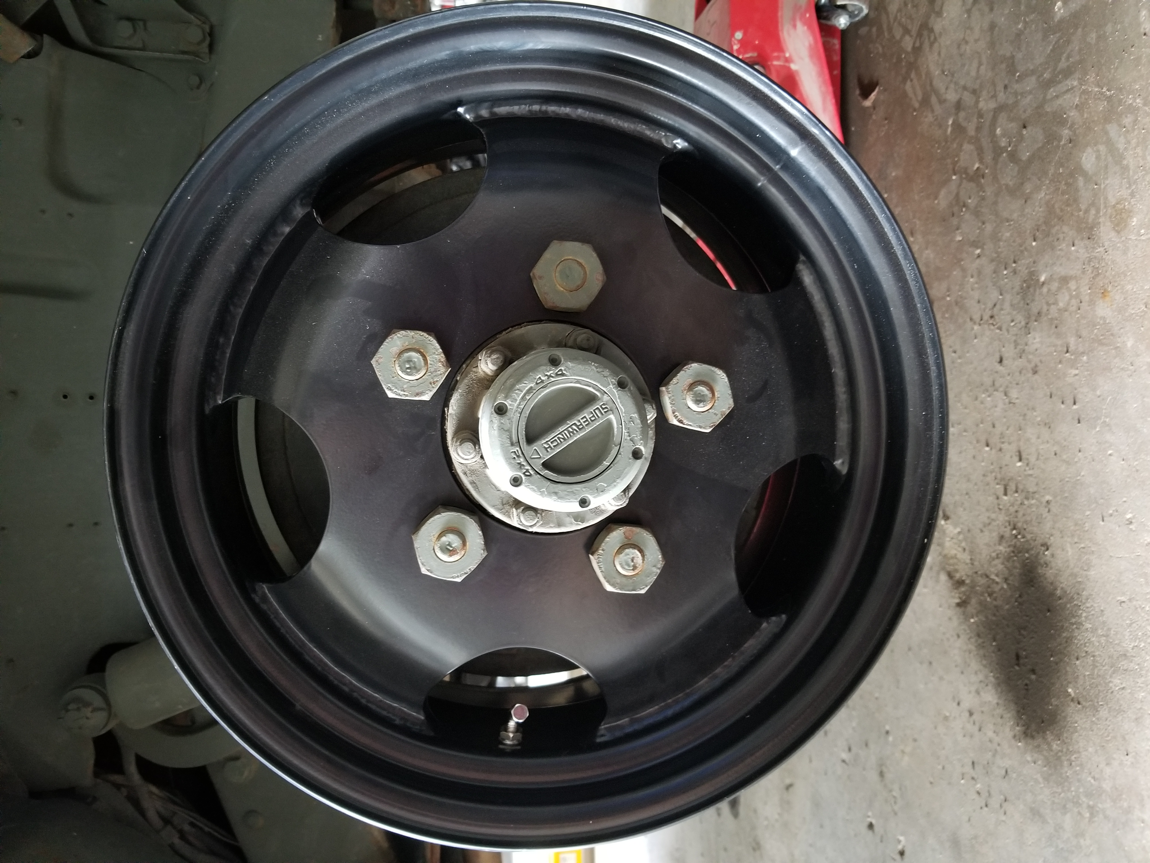 aftermarket traditional style  hole wheel vintage power wagons vpw news