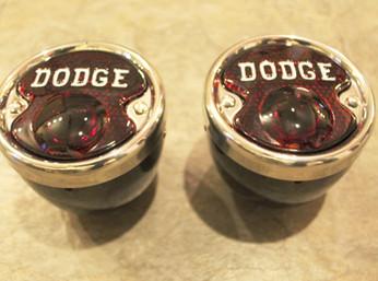 """New """"Dodge"""" Scripted Lens 6 & 12 Volt Taillights"""