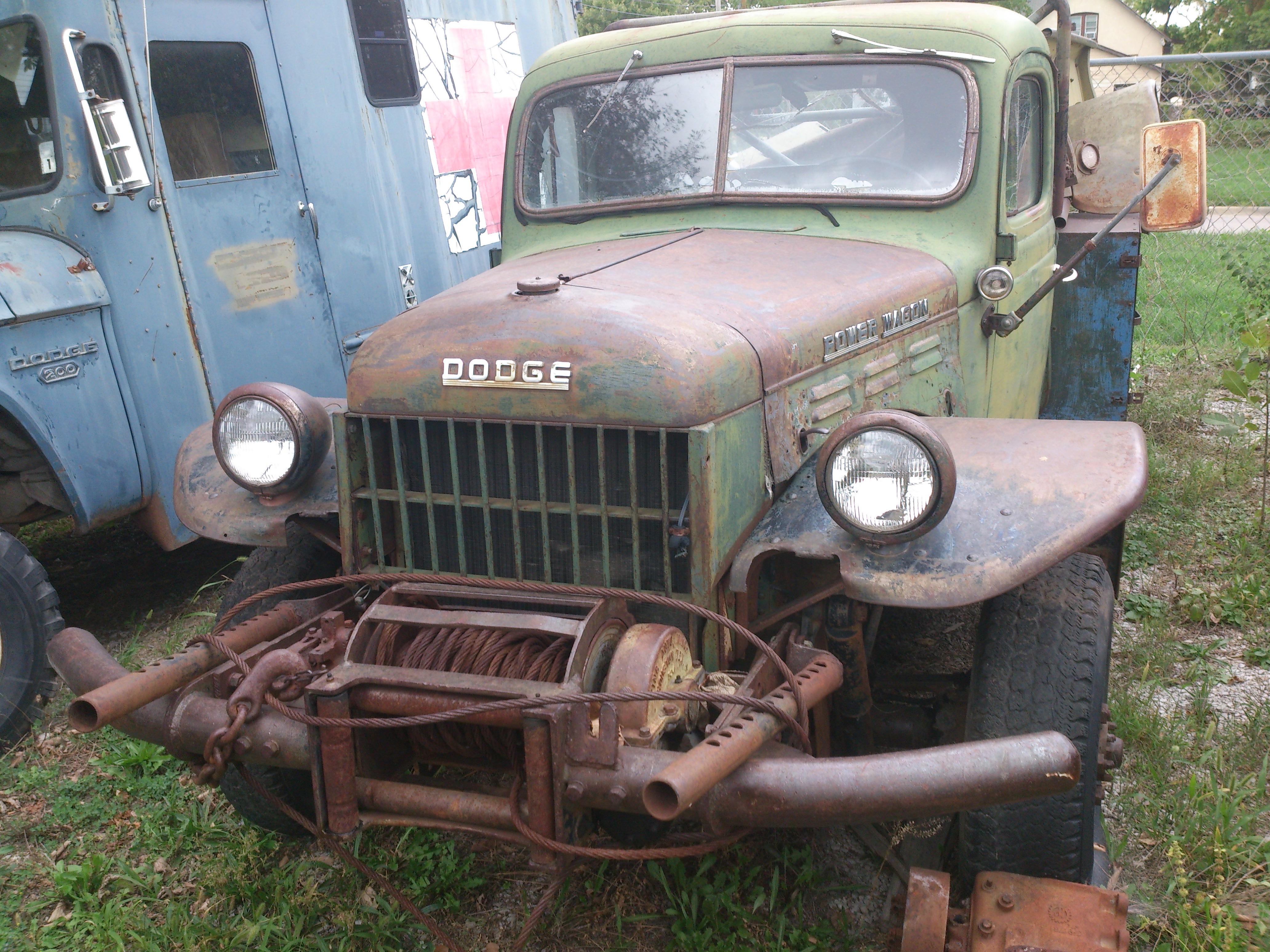 1952 B-3-PW Civilian Power Wagon
