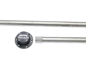 Hardened 4340 Custom 2-Piece M37 Rear Axle Shafts Now Available!