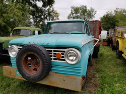 1966 D300 Converted to 4x4
