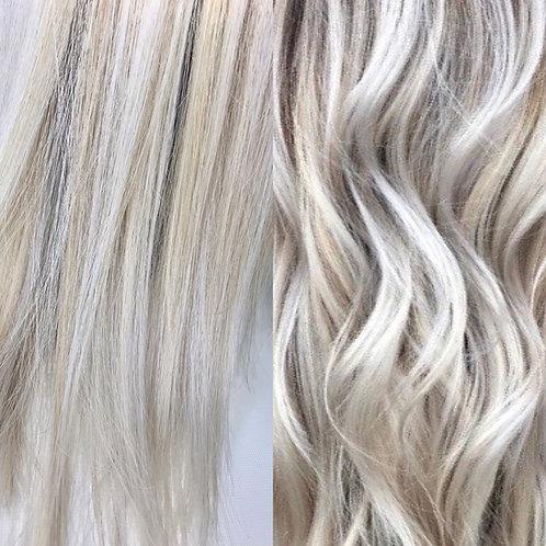 Wire #LTSVB/60/18/22 Ash White Blonde Mix
