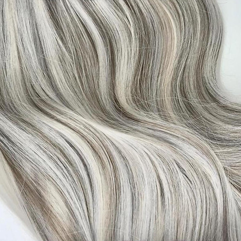 Wire #Silver/Ash Brown Mix