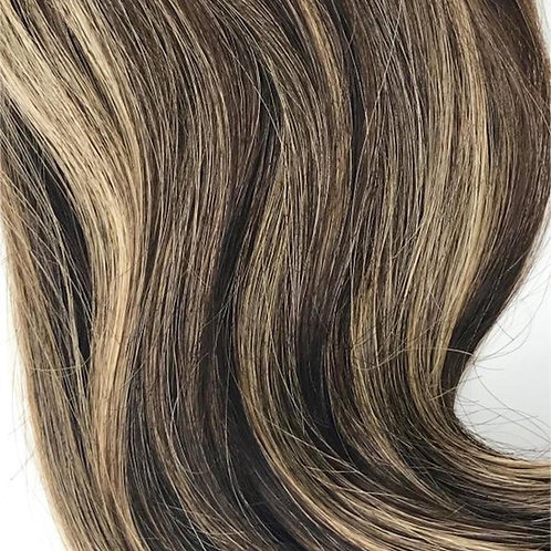 #4/27- Brown+Blonde Highlight Weft