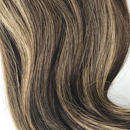 Wire #4/27 Medium Brown & Blonde Highlights