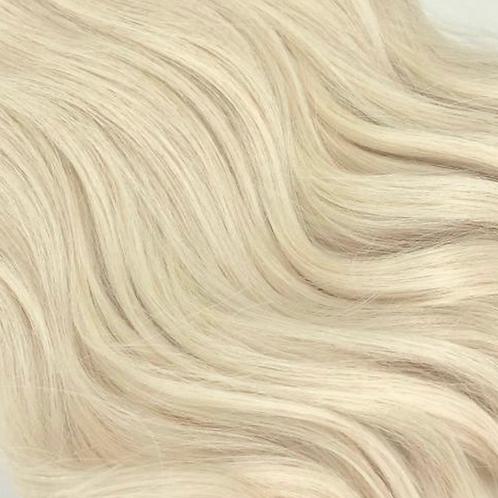 #60 White Platinum Blonde Weft