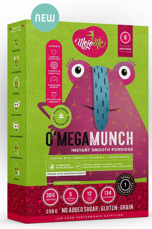 O'Mega Munch 250g Smooth Porridge