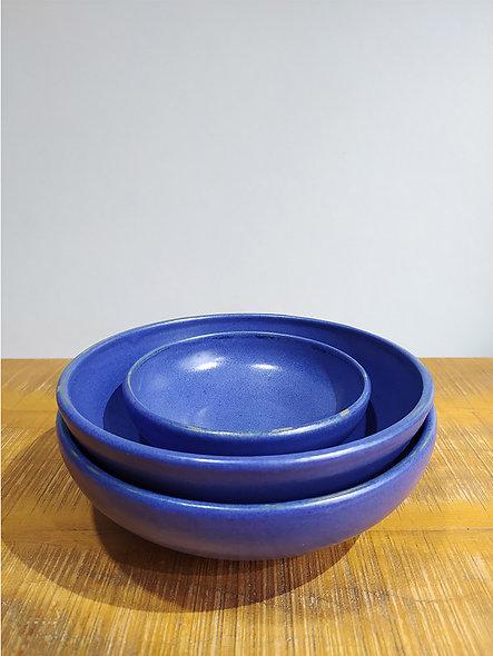 Kit Bowl Azul Lavanda