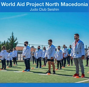 World aid by cycling Project North Macedonia