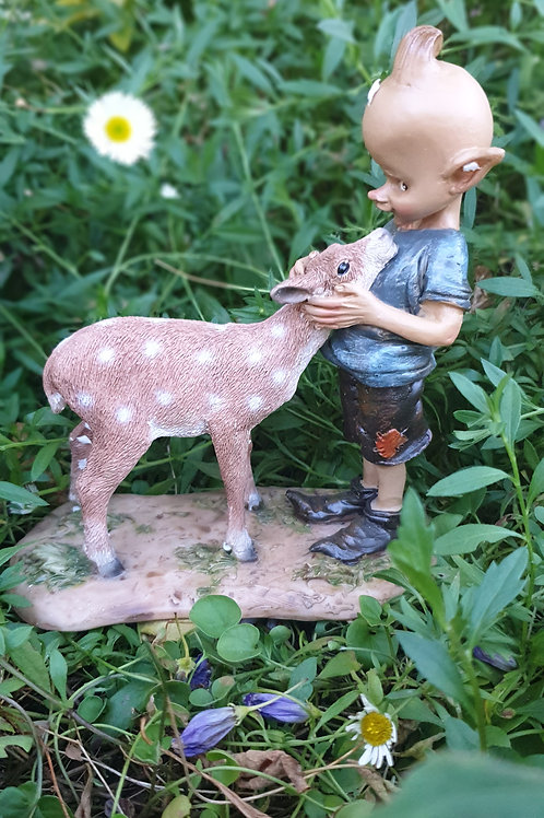 Pixie with Deer