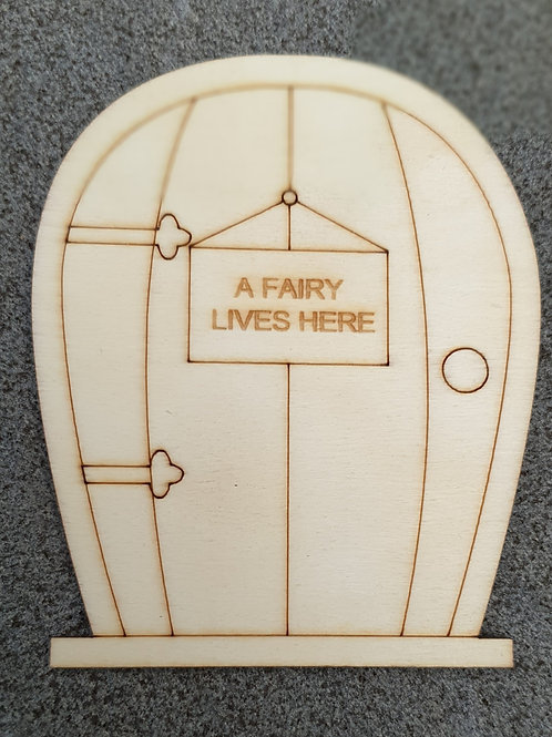 Mini DIY fairy door