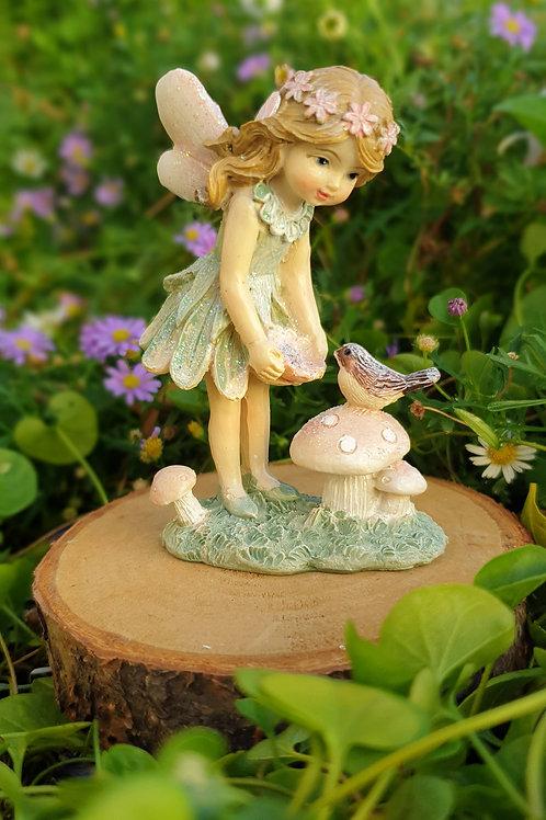Fairy Lila with Bird