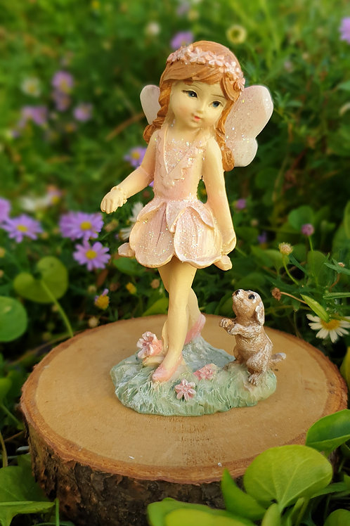 Fairy Lila with Pup