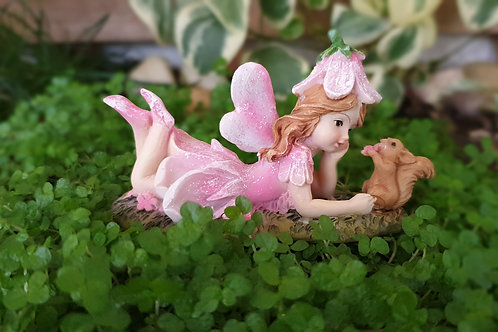 Fairy Kayla with squirrel