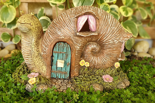 Snail fairy house