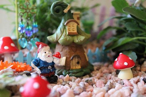 Miniature Seed Pod Fairy Home