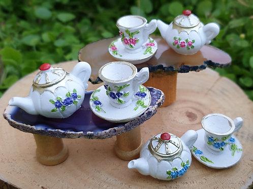 2 piece large tea set