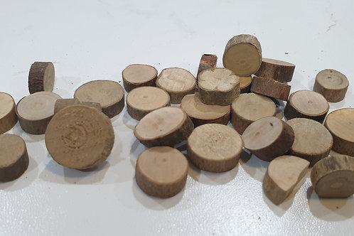 Mini wood slices
