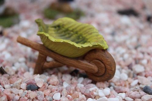 Mini leaf wheelbarrow