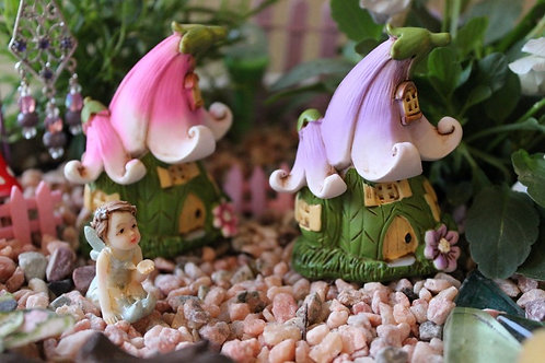 Miniature Flower Fairy Home