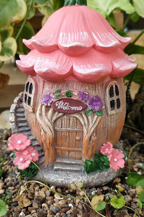 Fairy Welcome flower house