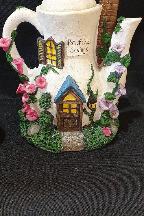 Teapot moneybox