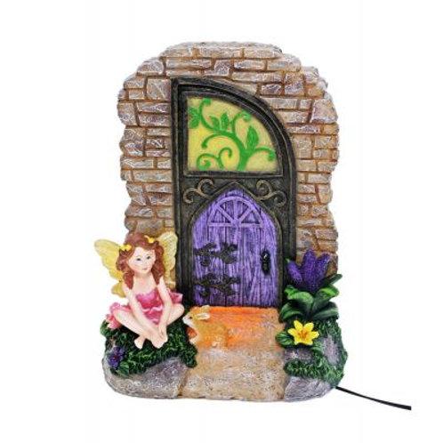 Fairy door night light