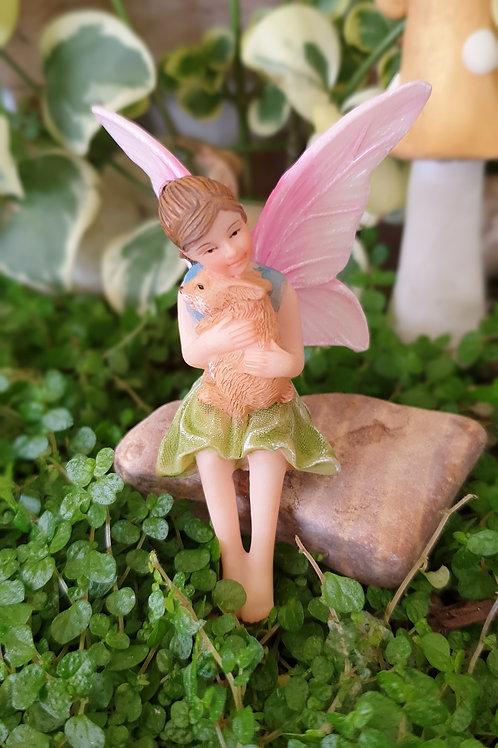 Fairy Ava with bunny