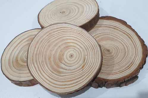 Large wood slices