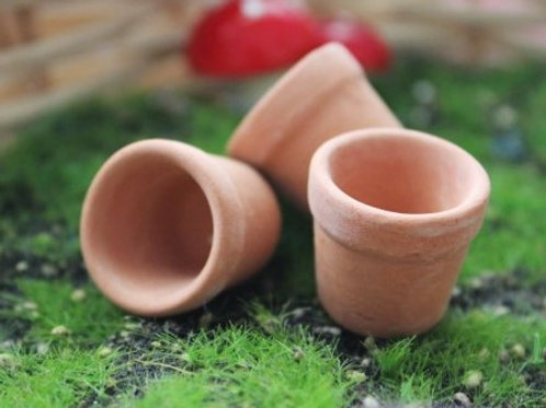 Mini Teracotta Pots pair