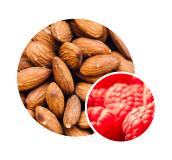 Nutz4Coffee.com Almonds with raspberries